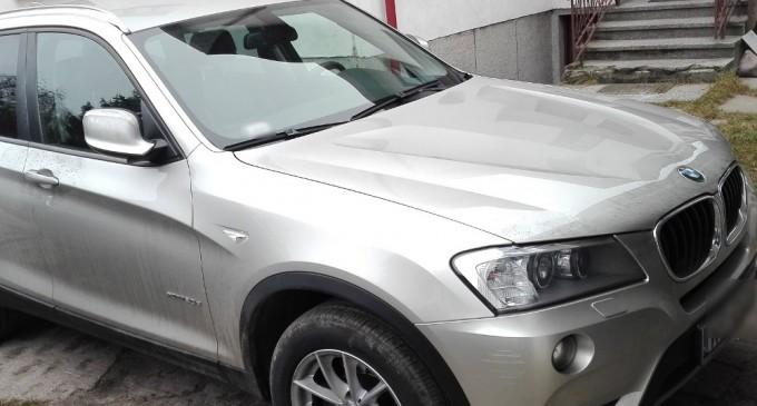 Skradzione BMW znaleziono w Wołominie