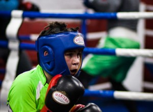 Trening bokserski sekcji Champion Wołomin