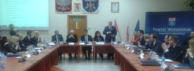 Powiat Wołomiński – przewrotu w starostwie nie będzie