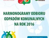 Wołomin. Harmonogram odbioru odpadów 2016