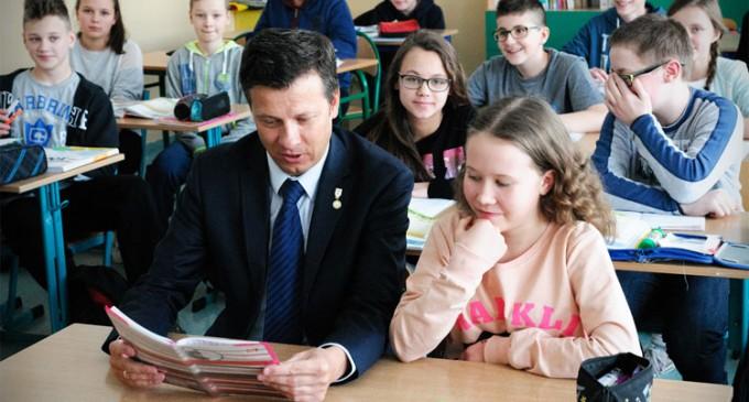 Rzecznik Praw Dziecka odwiedził Wołomin