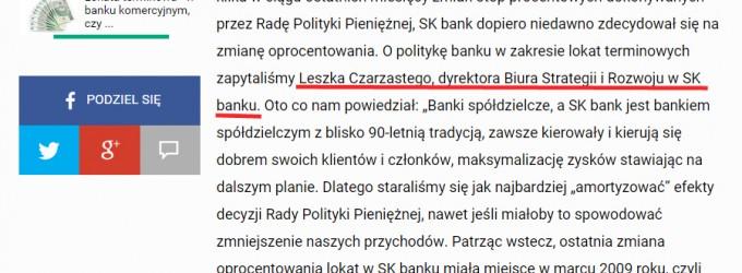 """Burmistrz Ząbek o pieniądzach miasta w SK Banku: """"odmawiają jakby wypłaty"""""""