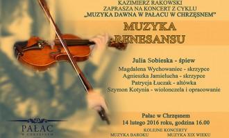 Muzyka renesansu w pałacu