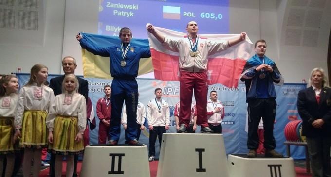 Patryk Zaniewski Mistrzem i Rekordzistą Europy