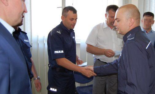 Wyróżnienia dla policjantów wołomińskiej Komendy