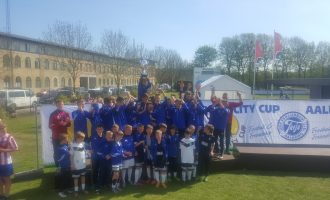 Młodzi piłkarze Wichru w Danii