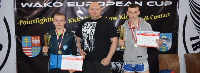 Dwa puchary Europy dla kickboxerów Wichru