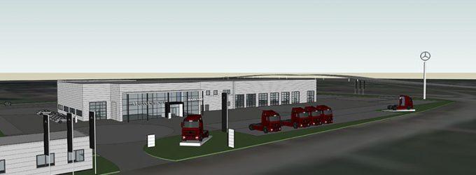 Inwestycja Mercedesa w gminie Radzymin