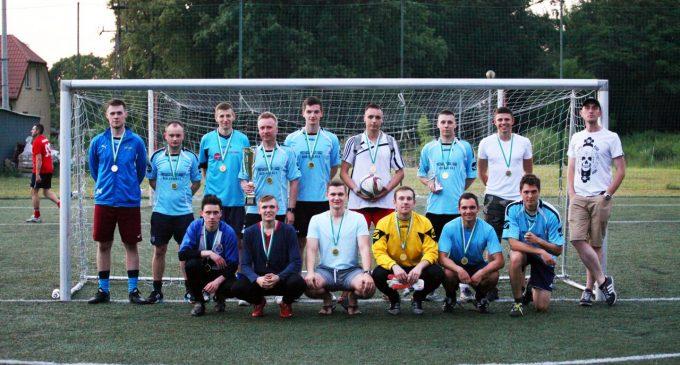 Andromeda pierwszym mistrzem Futboligi!