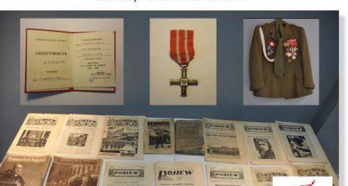 Przekazanie pamiątek w Ossowie