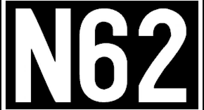 Czasowe skrócenie trasy linii N62