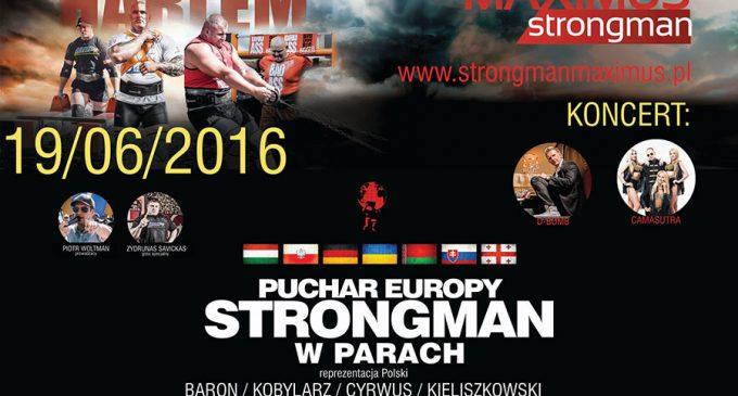 Zawody Strongman w Ząbkach