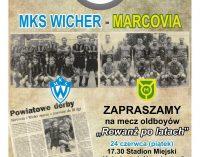 """""""Rewanż po latach"""" – MKS Wicher – Marcovia"""