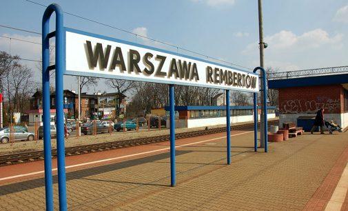 Pociągi wracają na odcinek Zielonka – Warszawa Rembertów