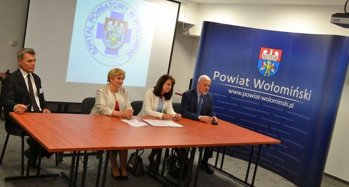 Ponad 3,7 mln zł z UE na e-usługi w Szpitalu w Wołominie