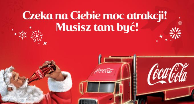 Ciężarówka Coca-Coli, lodowisko i nie tylko…