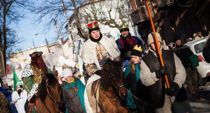 Trzech Króli przybyło do Wołomina