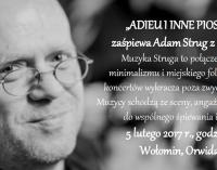 Adam Strung w Fabryczce Wołomin