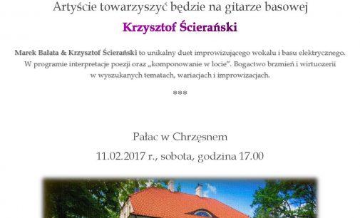 Marek Bałata & Krzysztof Ścierański w Chrzęsnem