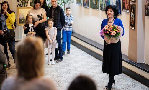 Wernisaż wystawy prac Elżbiety Rączki