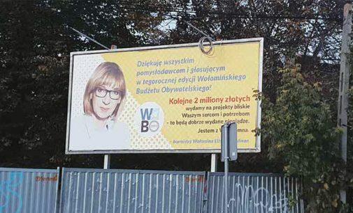 Billboard-owa burmistrz zamiast dobrego menedżera