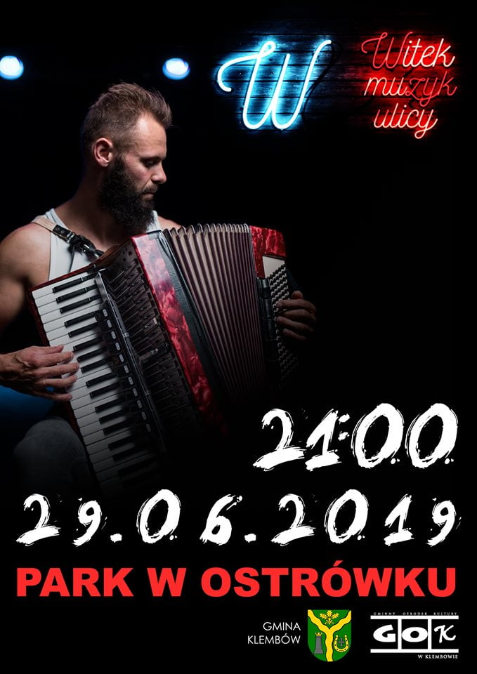 Witek Muzyk Ulicy w Ostrówku (Klembów)