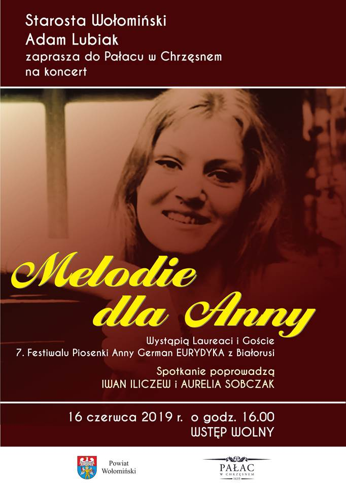 Plakat Melodie dla Anny powiat wołomiński