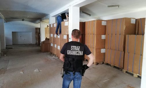 Wołomin. Akcja Straży Granicznej – wideo