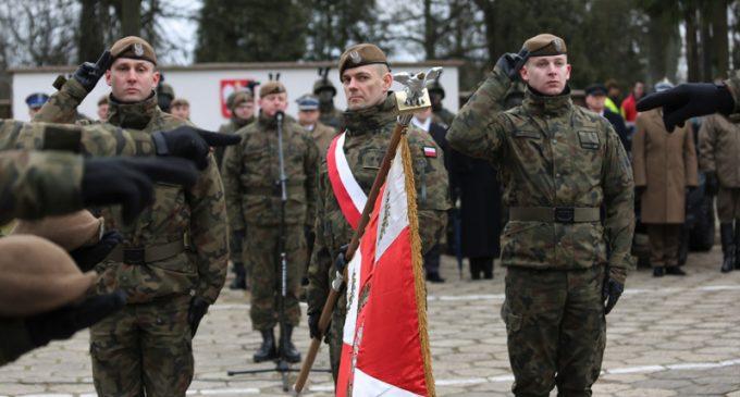 Kolejna przysięga żołnierzy – ochotników 5 Mazowieckiej Brygady obronny Terytorialnej